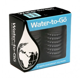 Water To Go Twin Pack 75 cl Filters